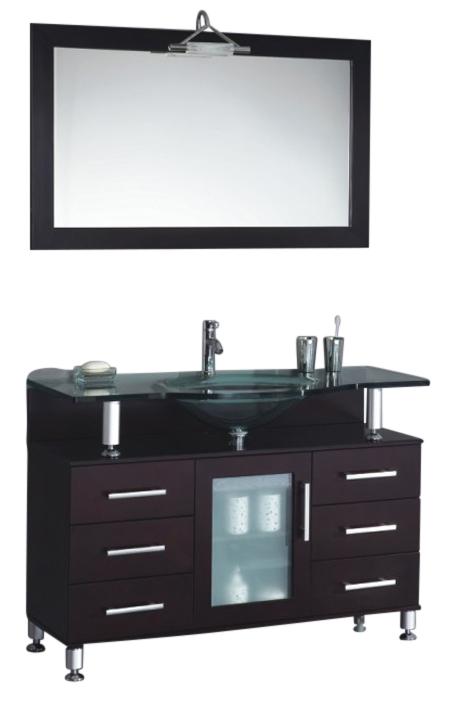 42 Quot Width Single Sink Modern Contemporary Bathroom Vanity